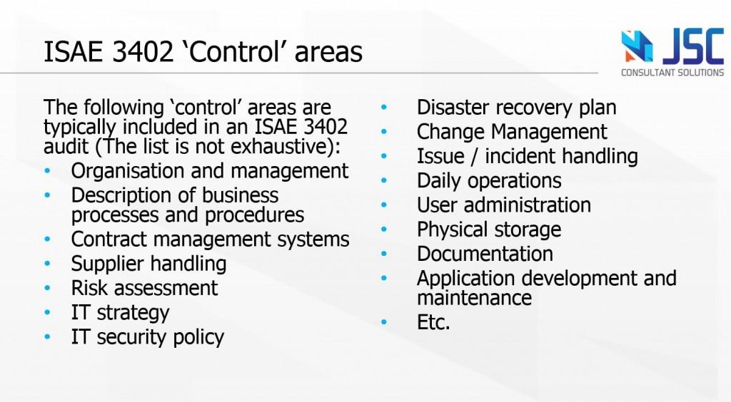 ISO 27001 vs ISAE 3402